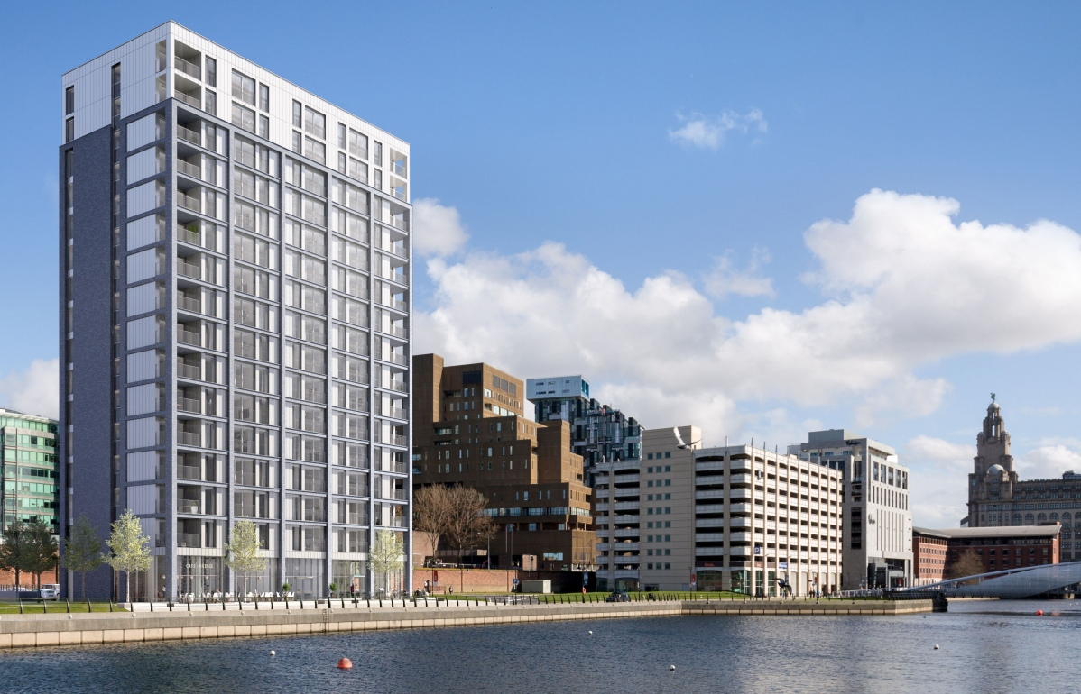 Plaza 1821 Liverpool Waters Hodder Partners